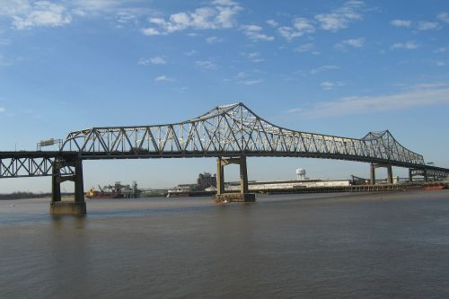 mississippi river bridge bridge louisiana