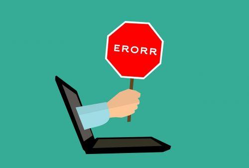 mistake 404 error computer