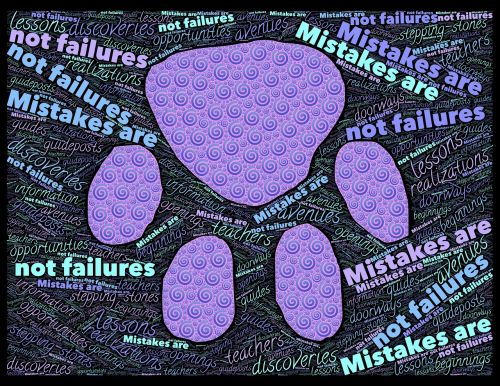 mistakes failures opportunity