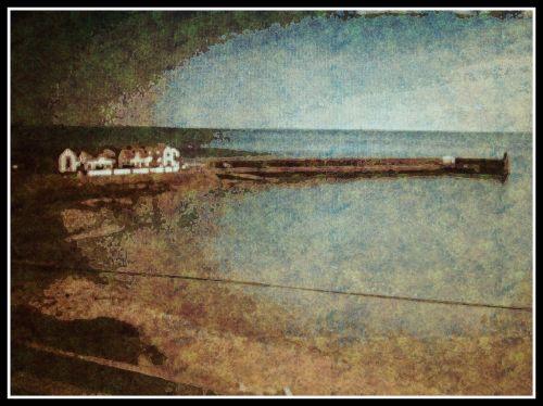 Misty Beach.