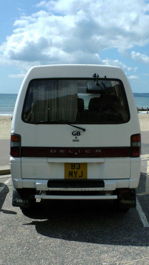 Mitsubishi Delica 4WD MPV Rear