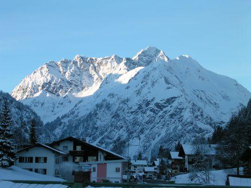 mittelberg kleinwalsertal austria