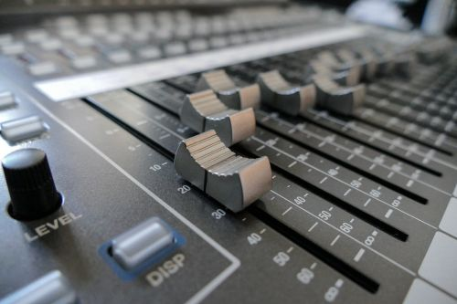 mixer fader digital console