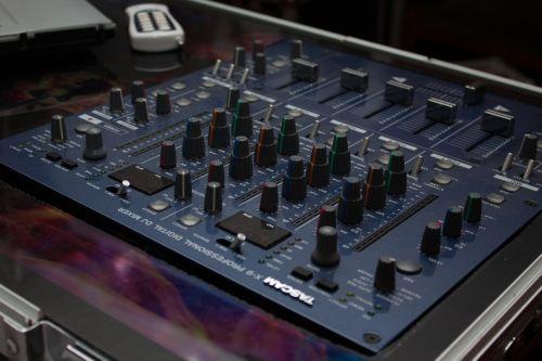 mixer disco music