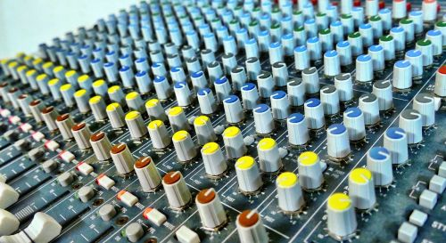 mixer rotary control sound