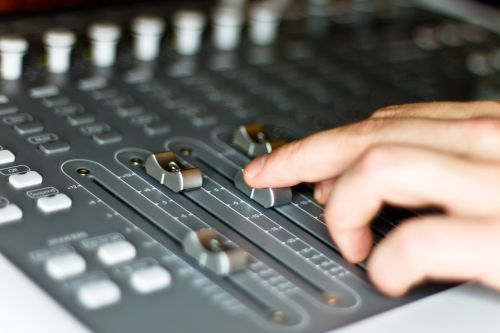 mixer sound studio radio