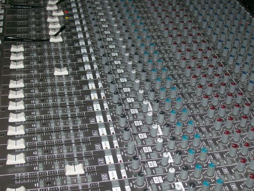 mixer music studio