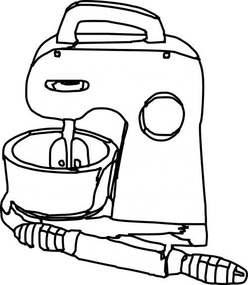 mixer stirring beater