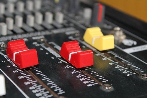 mixer  red  analogue
