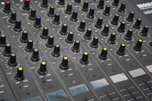 mixer pa studio