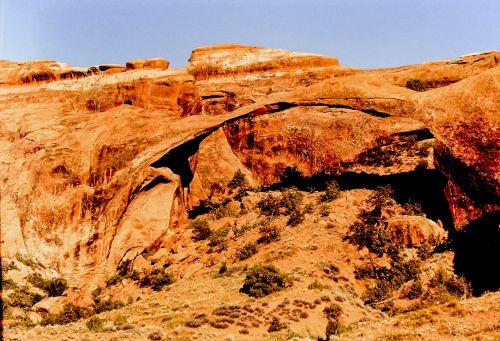 moab arch rock