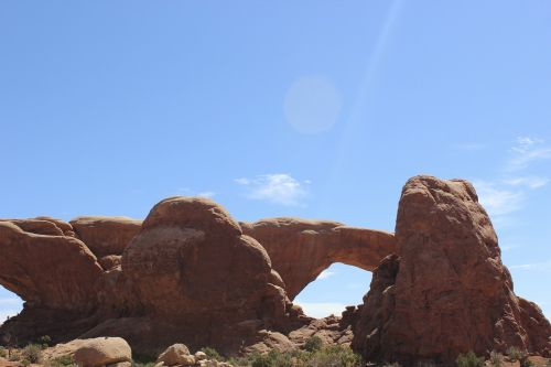 moab arches formation