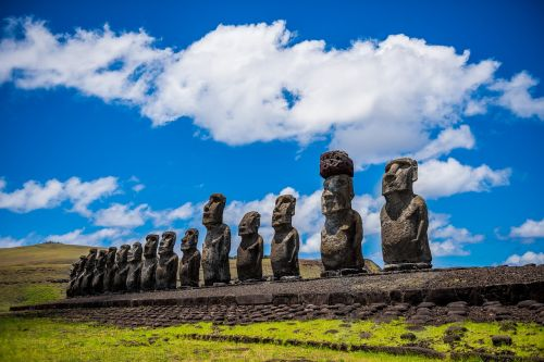 moai easter island rapa nui