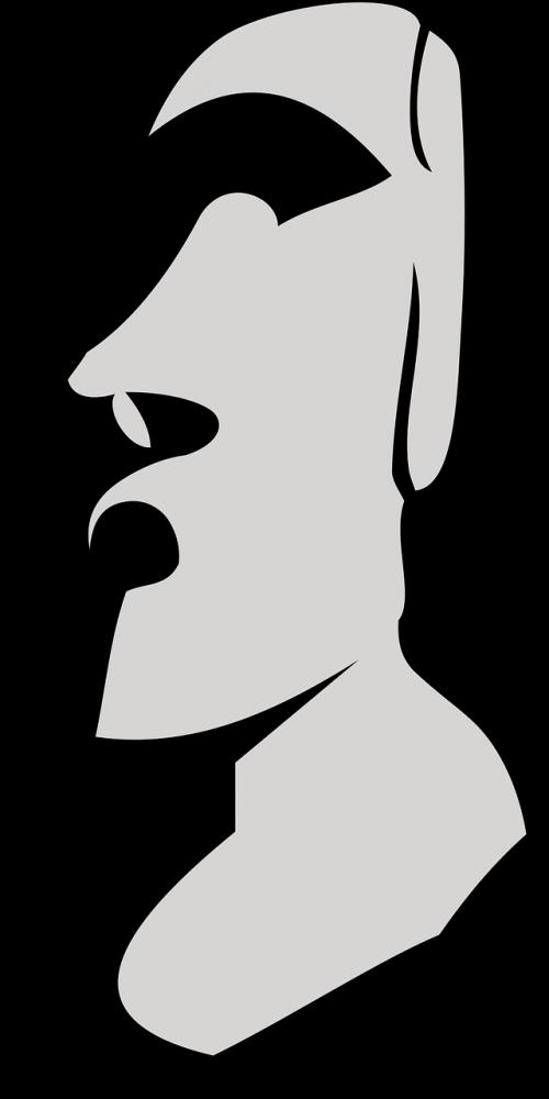 moai easter island the statue