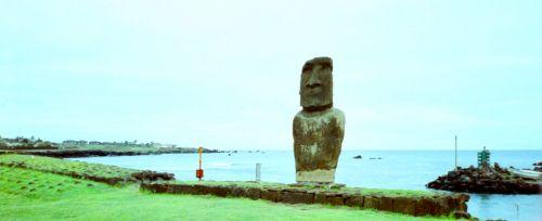 Moai In Rapa Nui Easter Island