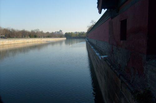 Moat Forbidden City