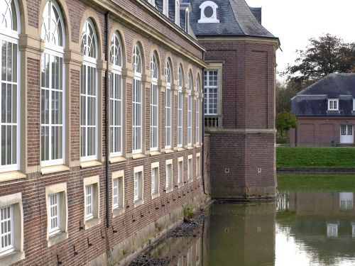 moated castle baroque north churches