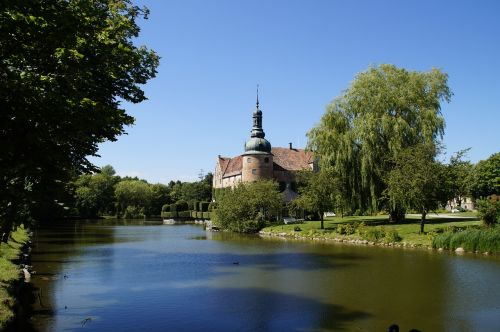 moated castle castle property