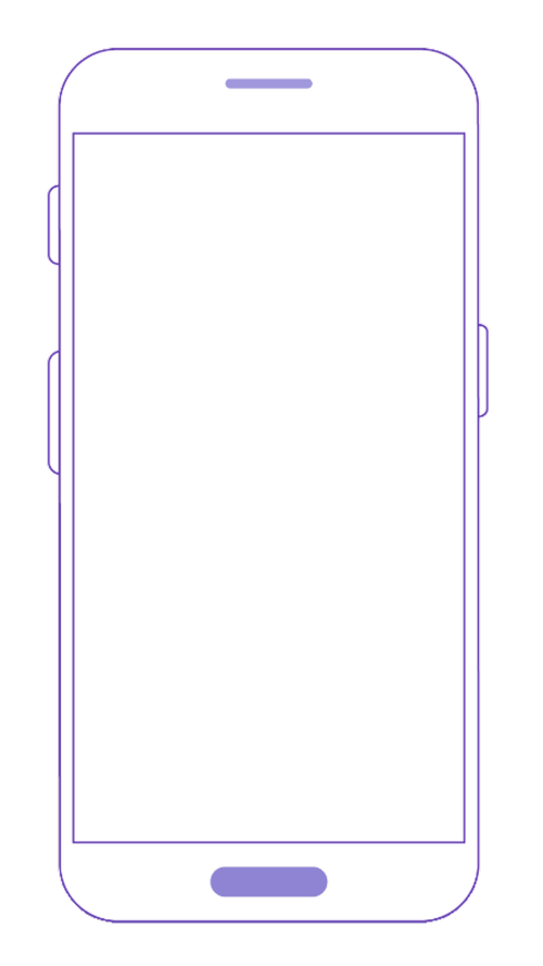 mobile  phone  blank screen