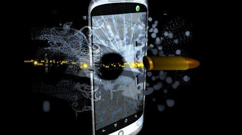 mobile phone cartridge bullet