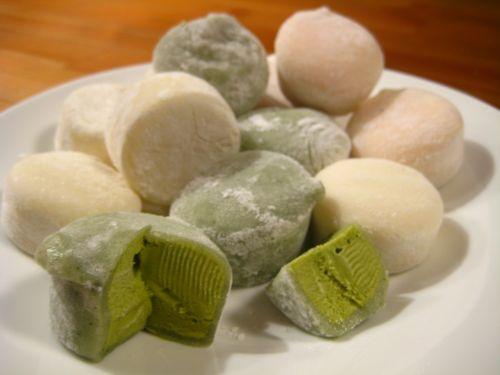 mochi ice cream japanese confection