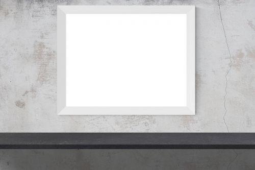 mockup wall poster