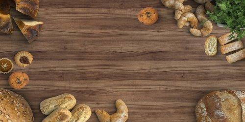 mockup  bakery  bread