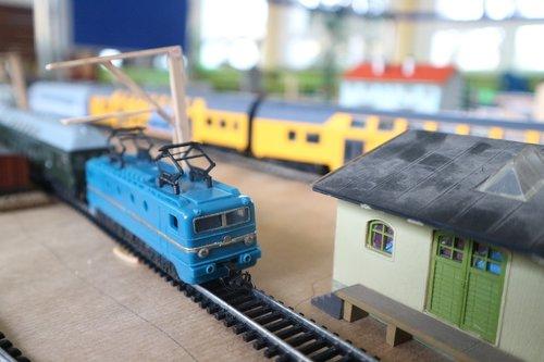 mockup  miniature  train