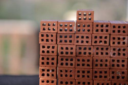 model brick stack