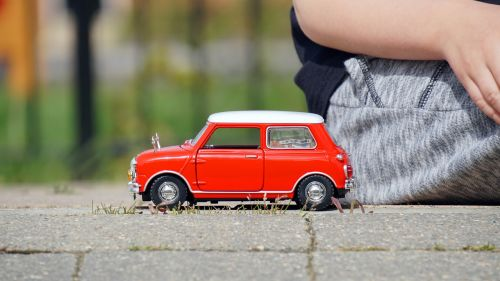 model car mini cooper