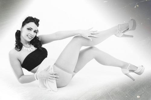 model girl lingerie