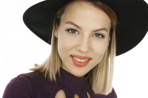 model beautiful portrait