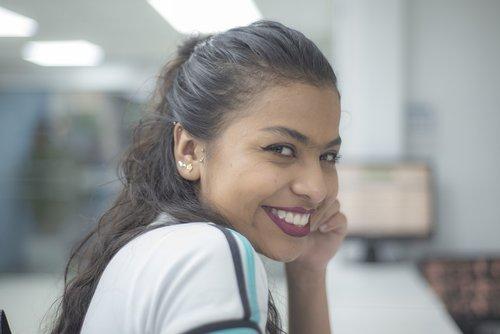 model  pretty  latin woman