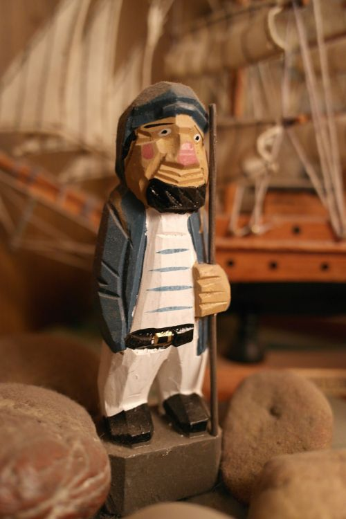 model ship sailor