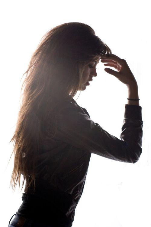 model hair hair model
