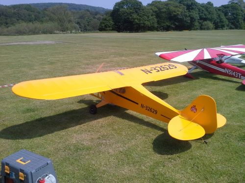model aircraft piper cub large scale