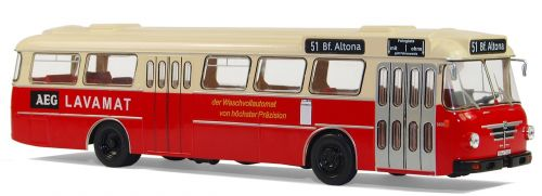 model buses büssing type senator 12 d