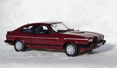 model car ford capri
