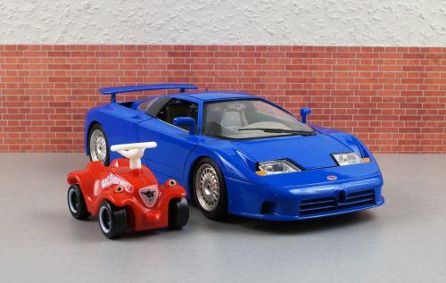 model car bugatti bobby car