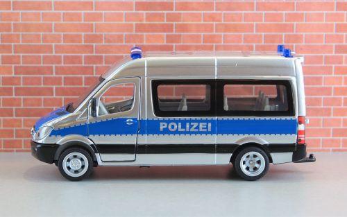 model car auto police car