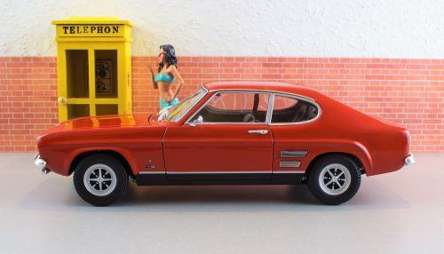 model car ford capri