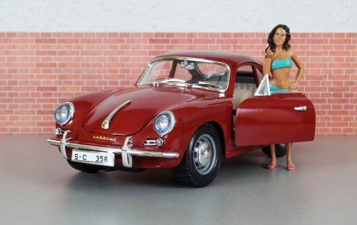 model car porsche porsche 356