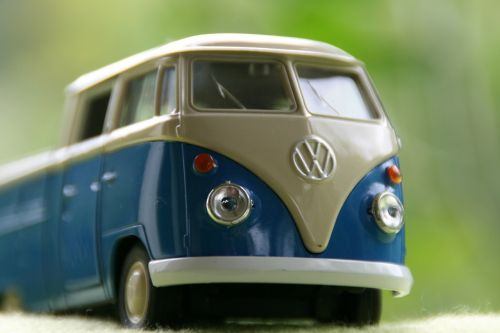 model car bus vw bus