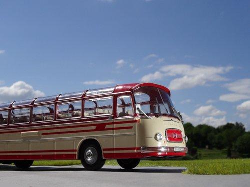 model car  bus  coach