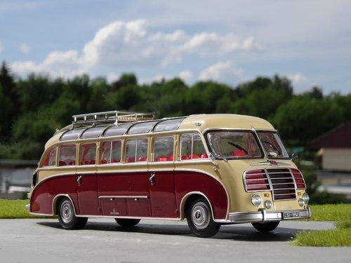 model car  coach  modellbus
