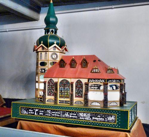 model church shadow play sebnitz