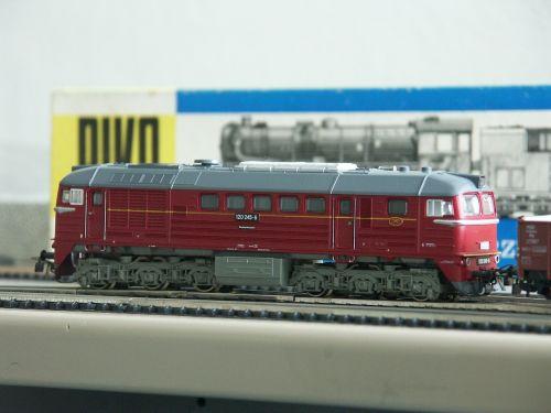 model railway piko diesel locomotive