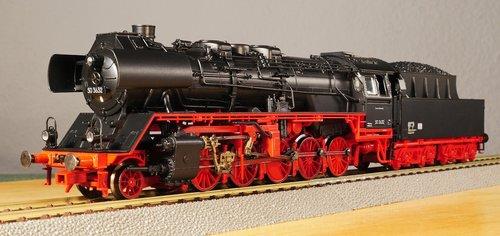 model railway  scale h0  steam locomotive