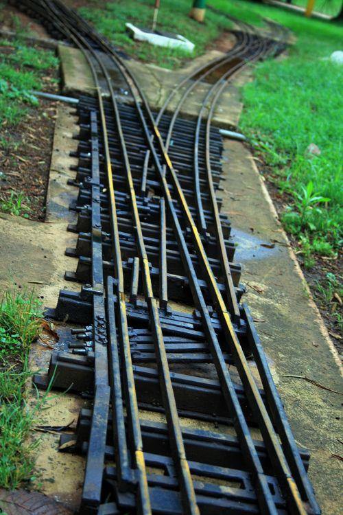 Model Railway Line Junction