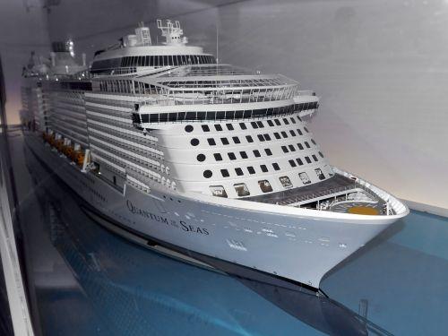 model ship cruise ship shipyard
